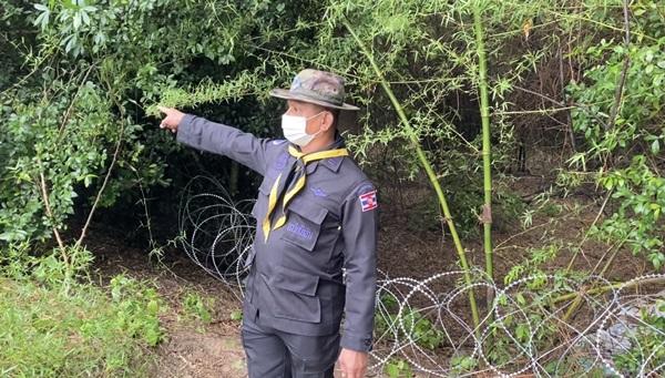 เข้มโควิด-19! ชุดลาดตระเวนทหารเรือตรวจเข้มแนวชายแดนจันทบุรีกันต่างด้าวรอบเข้าเมือง