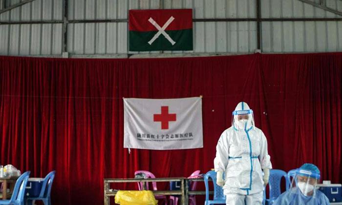 """""""ชายแดนพม่า-จีน"""" ยังไม่พ้นโควิด ทั้งว้าและโกก้างพบผู้ป่วยใหม่"""