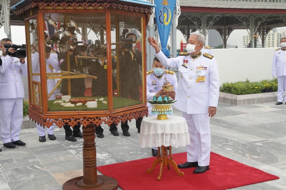 ในหลวง โปรดเกล้าฯ ประธานองคมนตรี บำเพ็ญพระราชกุศลเนื่องในวันคล้ายวันประสูติ เจ้าฟ้าทีปังกรฯ