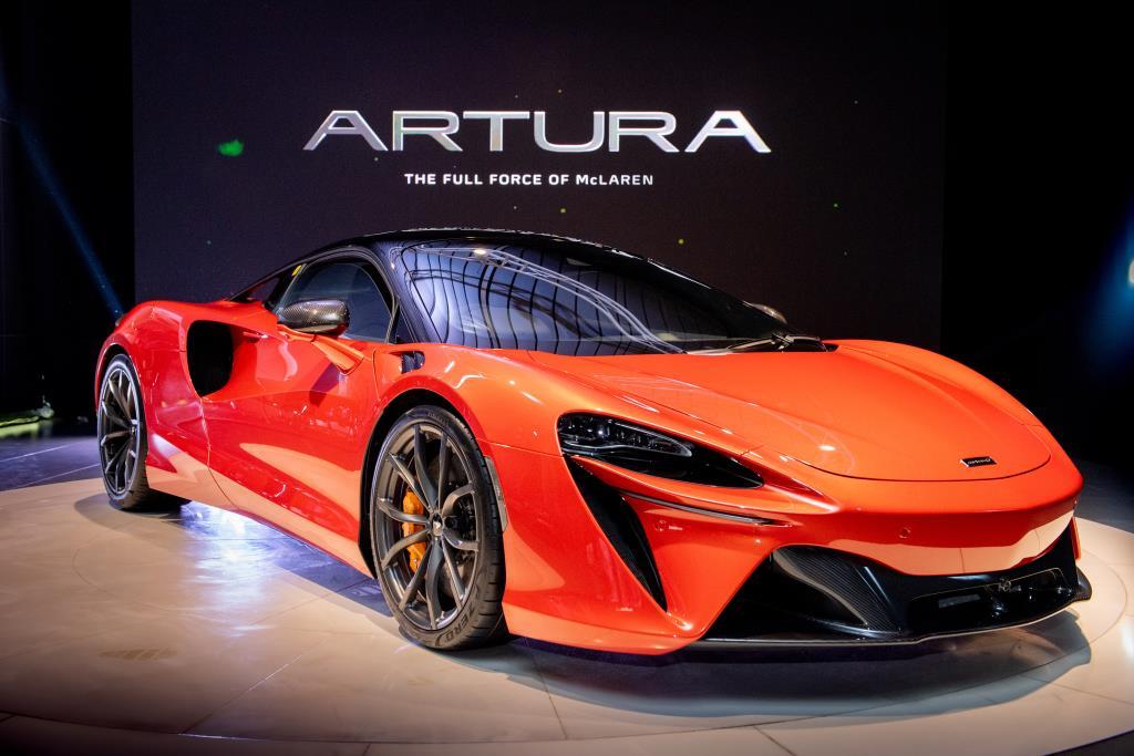 McLaren Artura  ซูเปอร์คาร์ไฮบริด  16.7 ล้านบาท