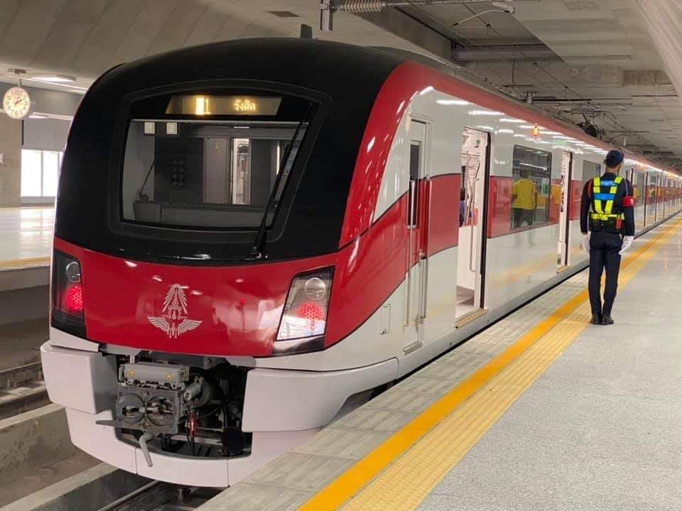 เช็กความพร้อมรถไฟสายสีแดง มิ.ย.ประมูลบริหารพื้นที่สถานีบางซื่อ 15-20 ปี ส่วน 12 สถานีรายทาง แยกสัญญาให้เช่าพื้นที่ 3 ปี