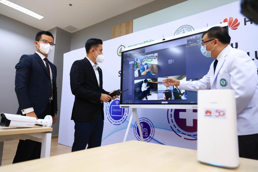 ดีอีเอส ร่วม NT-Huawei ส่งมอบระบบสื่อสาร และเทเลเมดีซีน แก่โรงพยาบาลสนาม