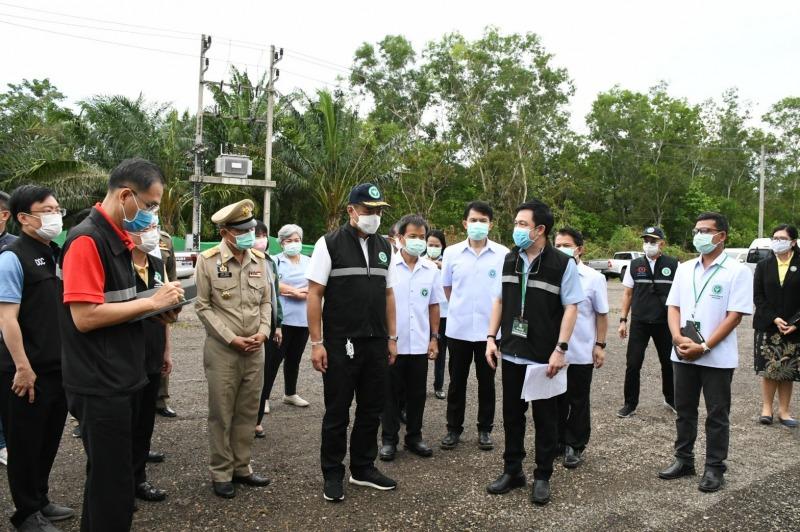 """""""อนุทิน""""เผยระนองพบผู้ติดเชื้อโควิด ชาวไทย-เมียนมาต่อเนื่อง เร่งเปิด รพ.สนาม รองรับ"""
