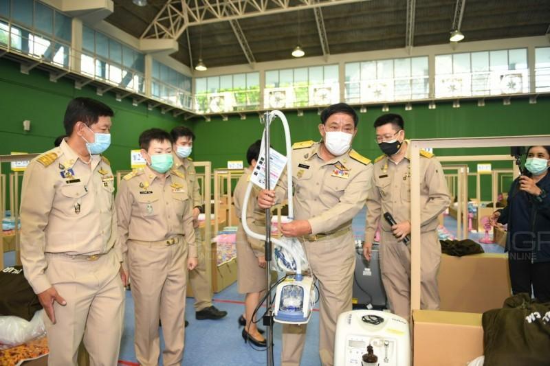 กทม.เปิดรพ.สนามแห่งที่ 5 รองรับผู้ป่วยโควิด นำร่องจ่ายยาฟาวิพิราเวียร์ป้องกันเชื้อลุกลาม