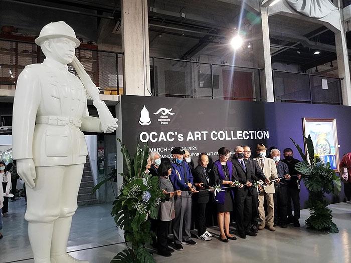 พิธีเปิดคอลเล็คชันผลงานศิลปะของสำนักงานศิลปวัฒนธรรมร่วมสมัย (Office of Contemporary Art and Culture หรือ OCAC) เมื่อวันที่ 19 มีนาคม พ.ศ. 2564 ณ หอศิลป์ร่วมสมัยราชดำเนิน (Ratchadamnoen Contemporary Art Centre หรือ RCAC) ถนนราชดำเนิน