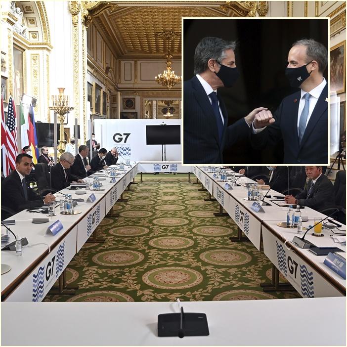"""ประชุม G-7 พบหน้าครั้งแรกสะดุด ตัวแทนอินเดียติดโควิด-19 """"ต่างประเทศสหรัฐฯ"""" เสียงแข็งโต้จีน-รัสเซีย โลกตะวันตกยังไม่จบ"""