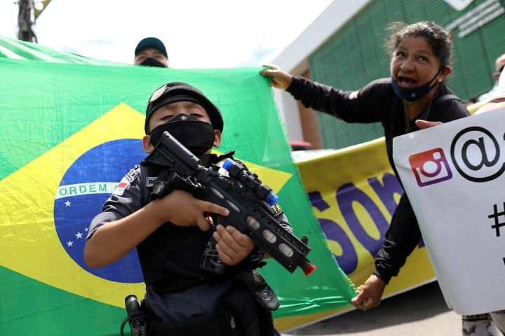 พาดพิงใคร!ปธน.บราซิลเชื่อโควิด-19สร้างในห้องแล็ป เพื่อก่อ'สงครามชีวภาพ'