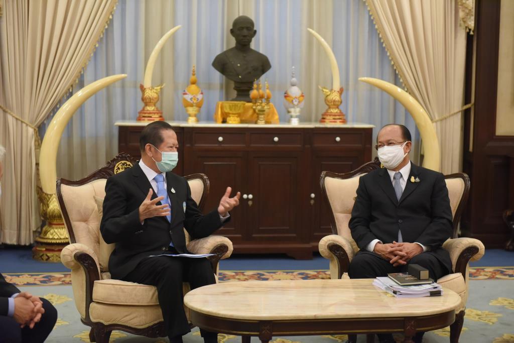 หอการค้าไทยพบมหาดไทย ประสานความร่วมมือเตรียมการฉีดวัคซีนทั่วประเทศ