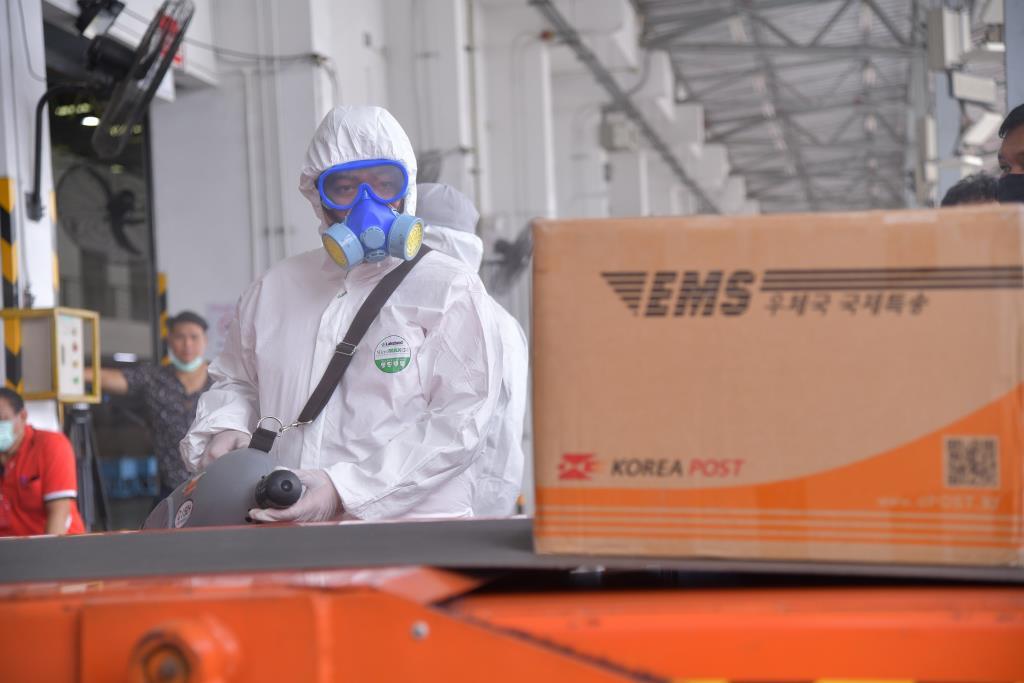 ไปรษณีย์ไทย ยกระดับคุมเข้มความปลอดภัยที่ทำการไปรษณีย์