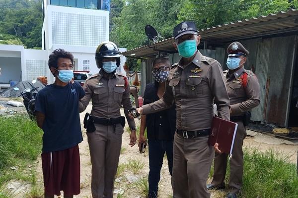 ตร.เมืองพังงาจับแล้วคนงานชาวพม่าแทง – ปาดคอ คนงานชาวไทยบาดเจ็บสาหัส