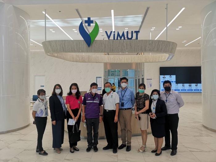 รพ.วิมุต จับมือภาครัฐบริการฉีดวัคซีนโควิด-19 นำร่องกลุ่มแพทย์
