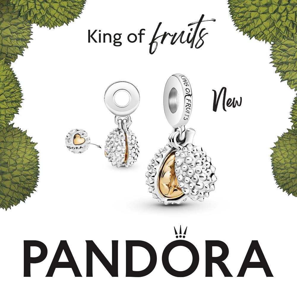 """สาวกทุเรียนห้ามพลาด """"Pandora"""" เปิดตัวชาร์มทุเรียนต้อนรับฤดูกาลของราชาแห่งผลไม้"""