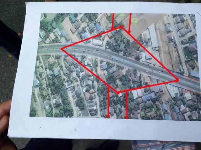 ชาวบ้านฮือประท้วงทางหลวงชนบท ขีดเส้นเวนคืนที่ตัดถนนใหม่พิษณุโลกเป็นเวิ้งกว้างเกือบกิโลฯ
