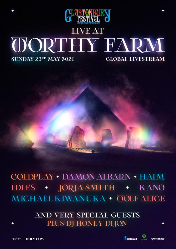 อยู่บ้านก็ปาร์ตี้กับเทศกาลดนตรีระดับโลกได้ GLASTONBURY FESTIVAL Live AT WORTHY FARM อาทิตย์ที่ 23 พ.ค. นี้ (ไม่มีรีรันนะจ๊ะ)