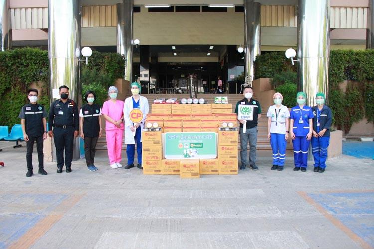 ซีพี-ซีพีเอฟ ร้อยเรียงใจ มอบอาหารปลอดภัย หนุนทีมแพทย์-พยาบาล รพ.พุทธชินราช สู้ภัยโควิด-19