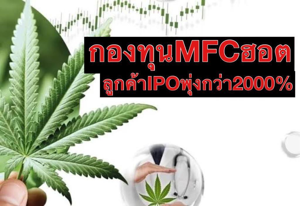 """""""MFC""""ฮอตลูกค้าแห่ลงทุนกองIPO เพิ่ม 2,340%"""