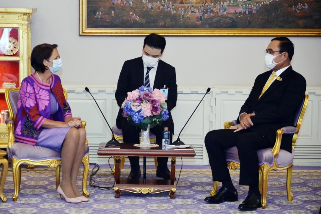 นายกฯ ถก ผู้แทนUNปมพม่า หวังเกิดสันติภาพเสถียรภาพ หนุนฉันทามติ 5 ข้ออาเซียน
