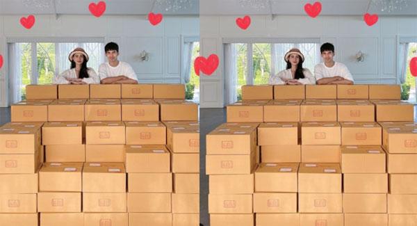"""""""ใหม่ - เต๋อ"""" พร้อมส่งกล่องรอยยิ้มครั้งที่ 2 ช่วยผู้เดือดร้อนจากโควิดแล้วจ้า"""