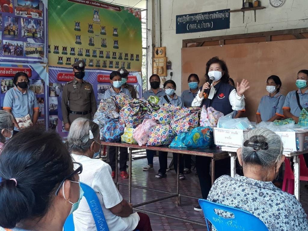 ศปฉ.พปชร.ช่วย ปชช.234 เคสเข้าถึงระบบการรักษา ระดมแจกถุงยังชีพ กทม.-ตจว.ชวนคนไทยฉีดวัคซีนป้องโควิด-19