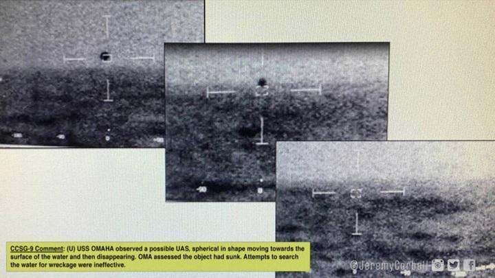 ใช่หรือไม่!แพร่คลิปหลุดเหตุการณ์จริง UFOเผชิญหน้าเรือกองทัพสหรัฐฯปี2019(ชมวิดีโอ)