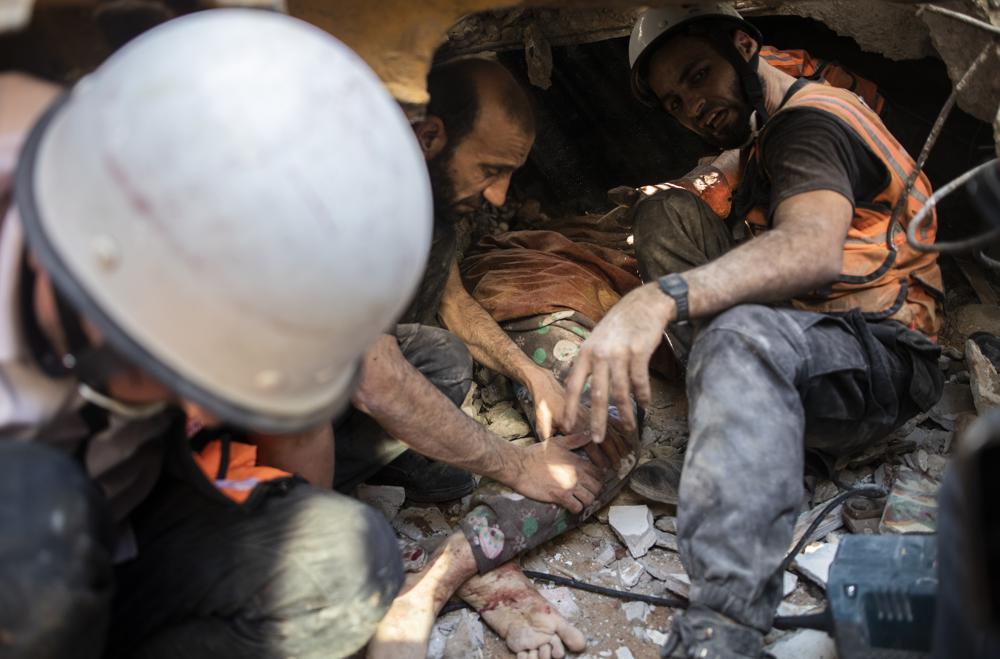 อิสราเอล-ปาเลสไตน์ซัดกันเข้าวันที่ 7 ทิ้งระเบิดถล่มบ้านพักผู้นำกลุ่มฮามาส