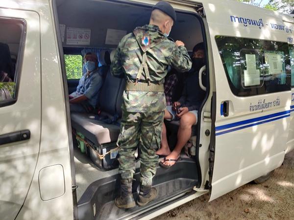 5 แรงงานเมียนมาหัวใส พกบัตรประชาชน คนไทยตบตา เจ้าหน้าที่ สุดท้ายไปไม่รอด