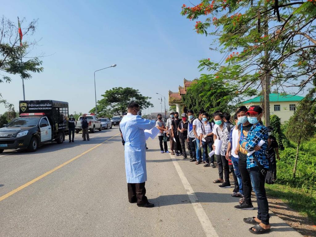 แรงงานพม่าลอบเข้าชายแดนไม่หยุด พบค่าหัวเข้า กทม.พุ่ง 24,000 บาท-ข้ามน้ำสายจ่าย 300