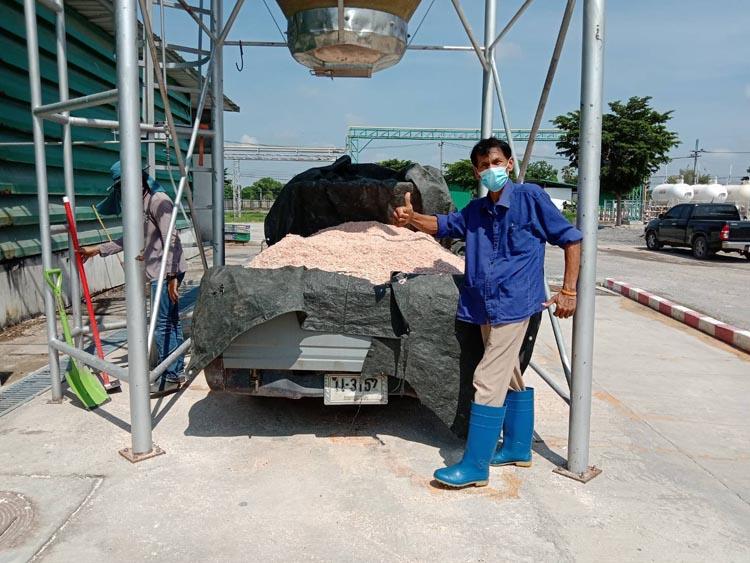 CPF ชูโมเดลรง.แปรรูปไข่บ้านนา นำเปลือกไข่บดจากกระบวนการผลิต หนุนประโยชน์สู่ชุมชน