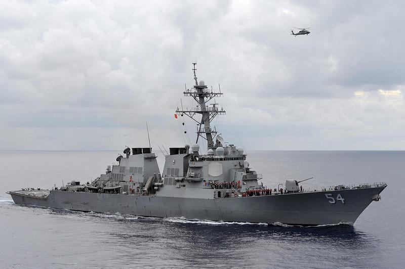 จีนโวย 'คุกคามสันติภาพ' หลังสหรัฐฯ ส่งเรือพิฆาตล่องผ่านช่องแคบไต้หวันอีกรอบ