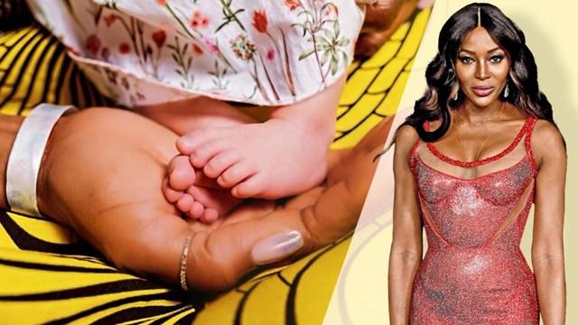 """""""นาโอมิ แคมป์เบล"""" ต้อนรับลูกคนแรกเป็นแม่คนในวัย 50 ปี"""