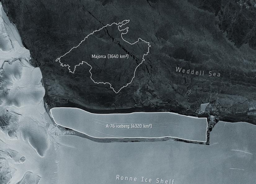 'ภูเขาน้ำแข็ง' ใหญ่ที่สุดในโลกหลุดจากทวีปแอนตาร์กติกา นักวิทย์ยันไม่ส่งผลต่อระดับน้ำทะเล