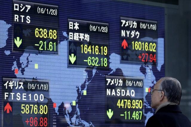 ตลาดหุ้นเอเชียปรับลบตามดาวโจนส์ วิตกเฟดปรับลด QE
