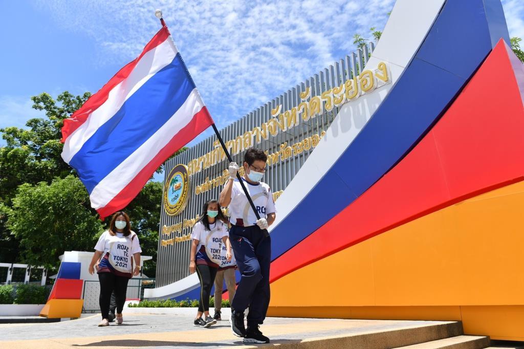 4 วันสุดท้าย!!! ปรากฏการณ์วิ่งธงชาติไทยผืนประวัติศาสตร์ ใกล้ครบเป้าหมาย 4,606 กม.