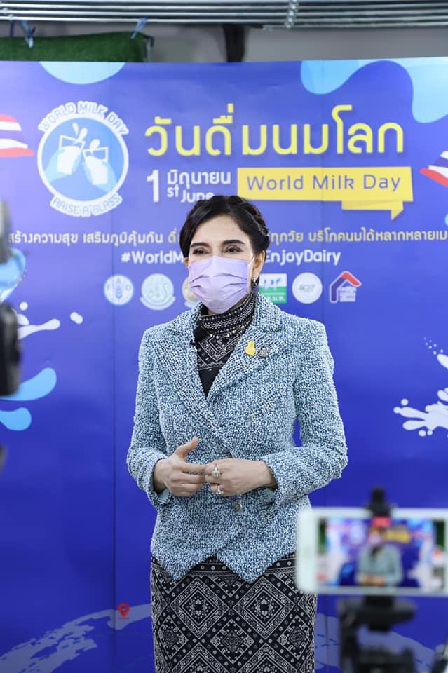 """กระตุ้นคนไทยดื่มนม 25 ลิตร/คน/ปี จัดงาน""""เวิลด์มิ้ลก์เดย์""""ผ่านออนไลน์"""