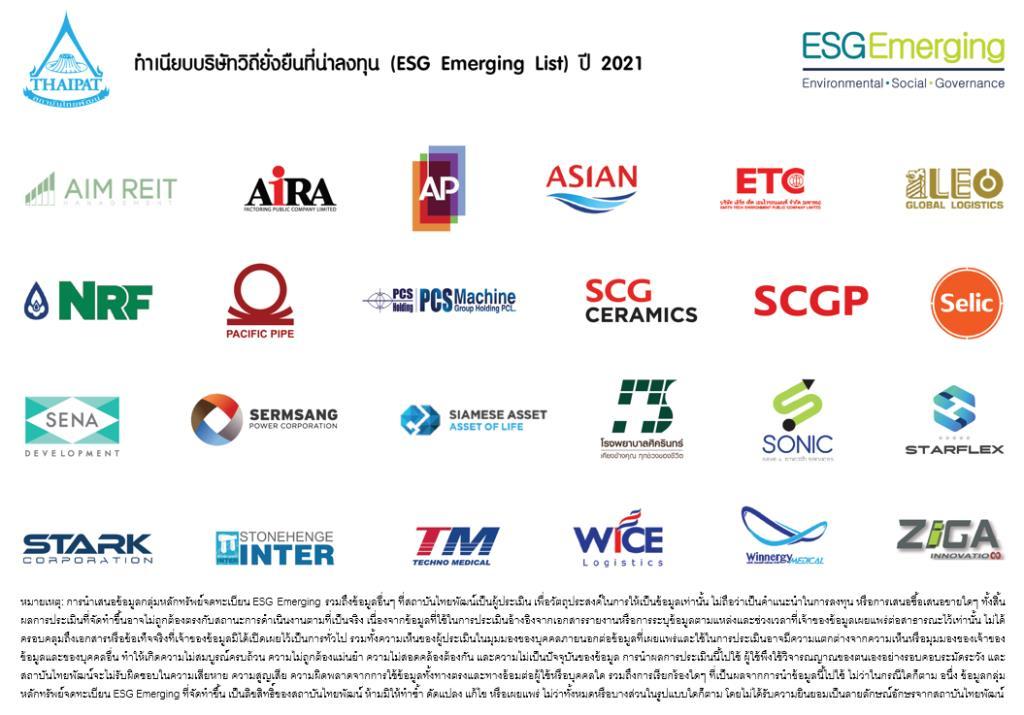 """SELICติดโผบริษัทวิถียั่งยืนที่น่าลงทุน กลุ่มหลักทรัพย์""""ESG Emerging List 2021"""""""