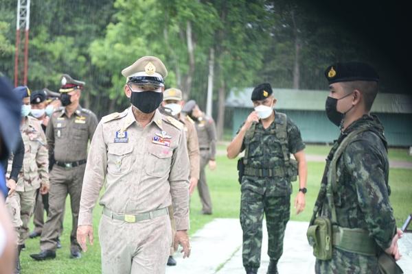 ราชบุรีสนธิกำลังเฝ้าระวังการลักลอบเข้าเมืองผิดกฎหมาย แนวชายแดน
