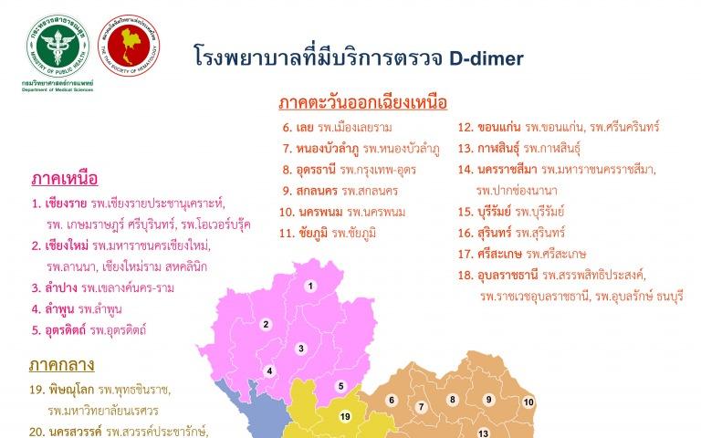 กรมวิทย์ฯ เผยห้องปฏิบัติการไทยพร้อมตรวจภาวะหลอดเลือดอุดตันภายหลังการฉีดวัคซีน