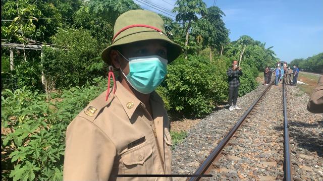 หนุ่มใหญ่ โดดขวางรถไฟถูกชนร่างกระจาย คาดเครียดสุขภาพ