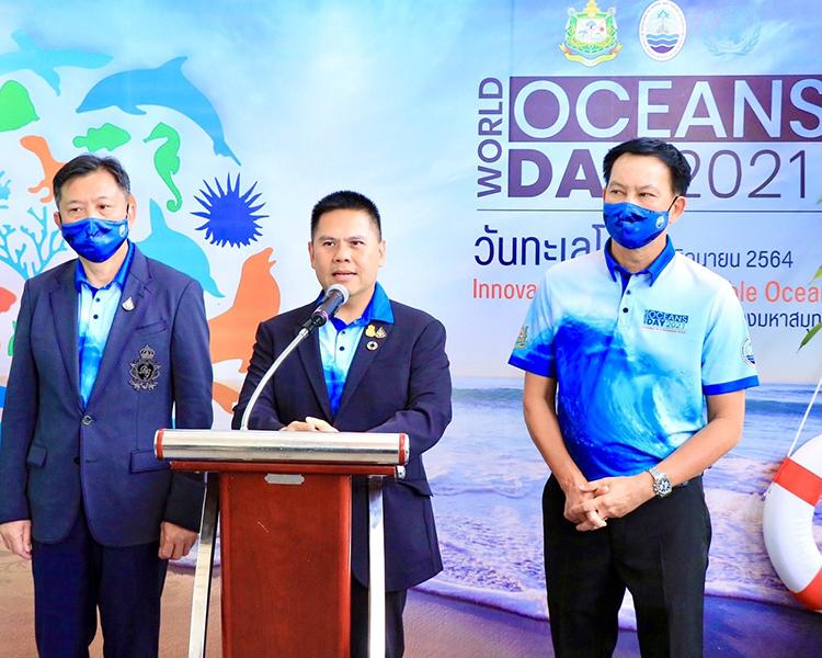 """วันทะเลโลก """"วราวุธ"""" ย้ำ """"ด้วยมือคนไทย ทำทะเลไทยสมบูรณ์"""" ร่วมอนุรักษ์ทะเลคู่วิถีชีวิต"""