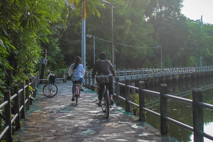 ปั่นจักรยาน การท่องเที่ยวที่เป็นมิตรกับสิ่งแวดล้อม