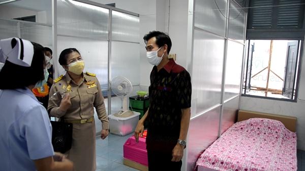 ลพบุรีเปิด รพ.สนามในพื้นที่ทาหาร รับมือผู้ป่วยจากคลัสเตอร์ CPF แก่งคอย