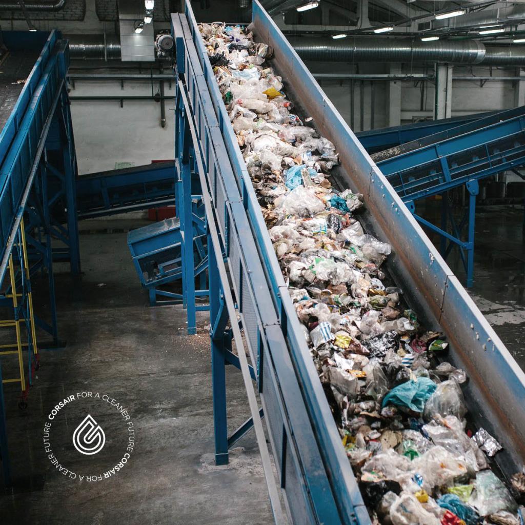 คอร์แซร์ รุกแก้ปัญหาขยะพลาสติกในไทย เปลี่ยนขยะเป็นน้ำมันชีวภาพ