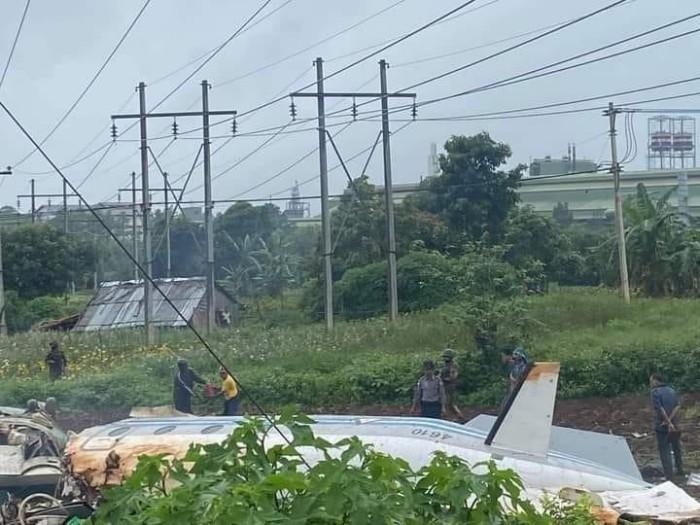 พม่าแถลงมีผู้เสียชีวิต 12 ราย จากเหตุเครื่องบินทหารพม่าตกในเขตมัณฑะเลย์