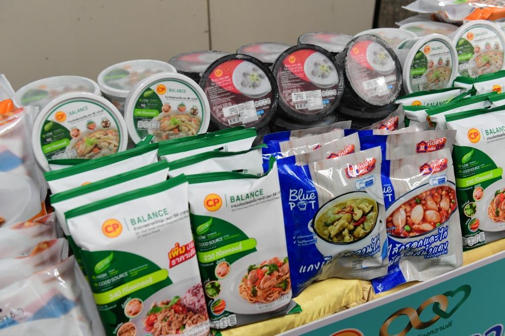 CP-CPF ช่วยชาติ ส่งอาหารหนุน สธ.ร่วมสร้างภูมิคุ้มกันหมู่ให้ประเทศ