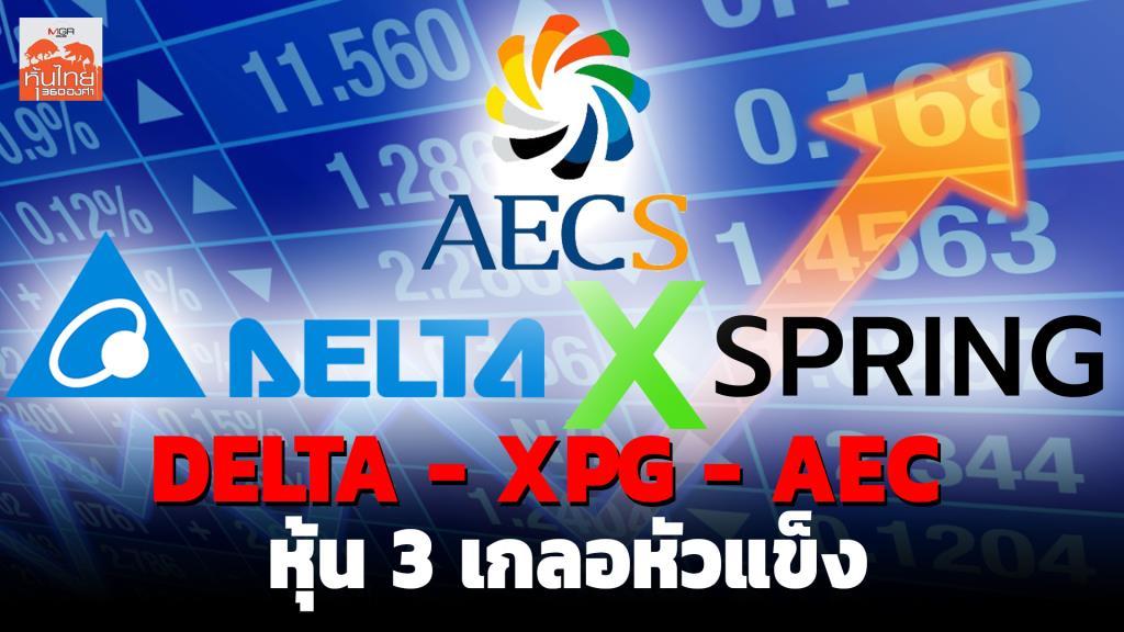 DELTA - XPG - AEC หุ้น 3 เกลอหัวแข็ง / สุนันท์ ศรีจันทรา