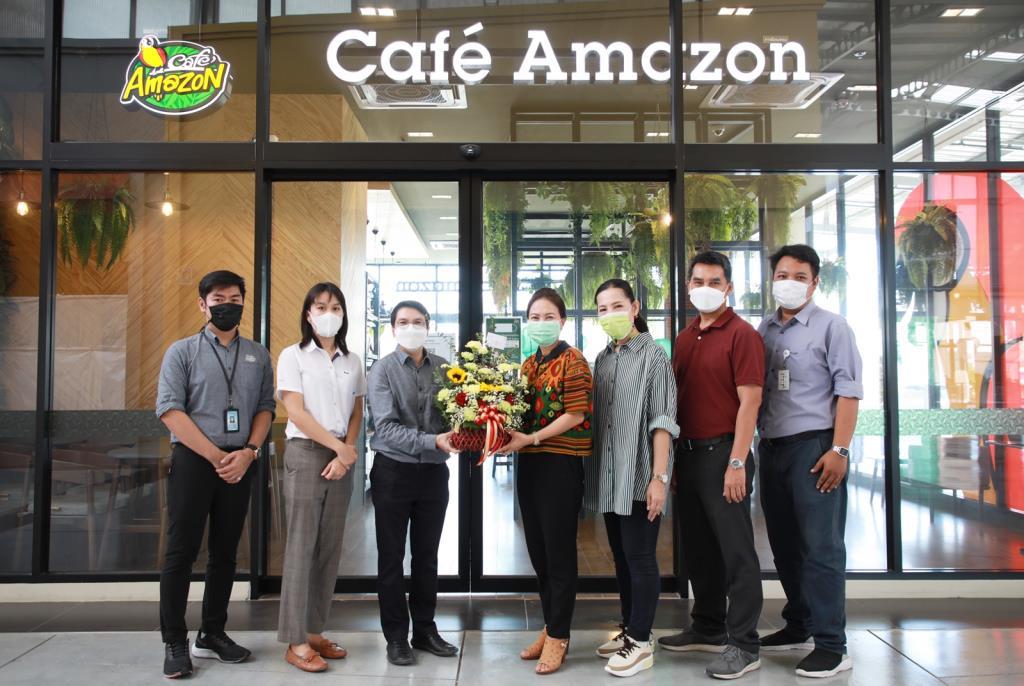 เดอะไนน์ เซ็นเตอร์ ติวานนท์ พร้อมเปิดคาเฟ่ อเมซอน (Café Amazon) จุดนัดพบแห่งใหม่ในบรรยากาศธรรมชาติ