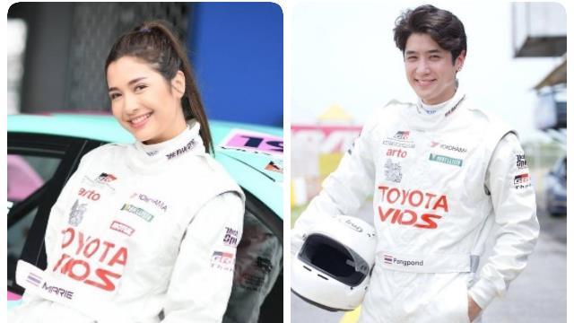 """โตโยต้า เรซซิ่ง สตาร์ทีม! จัดเต็มความแรง """"มารี"""" แท็กทีม """"ปังปอนด์"""" พร้อมใส่เต็มสปีดใน """"Toyota Gazoo Racing Motorsport 2021"""""""