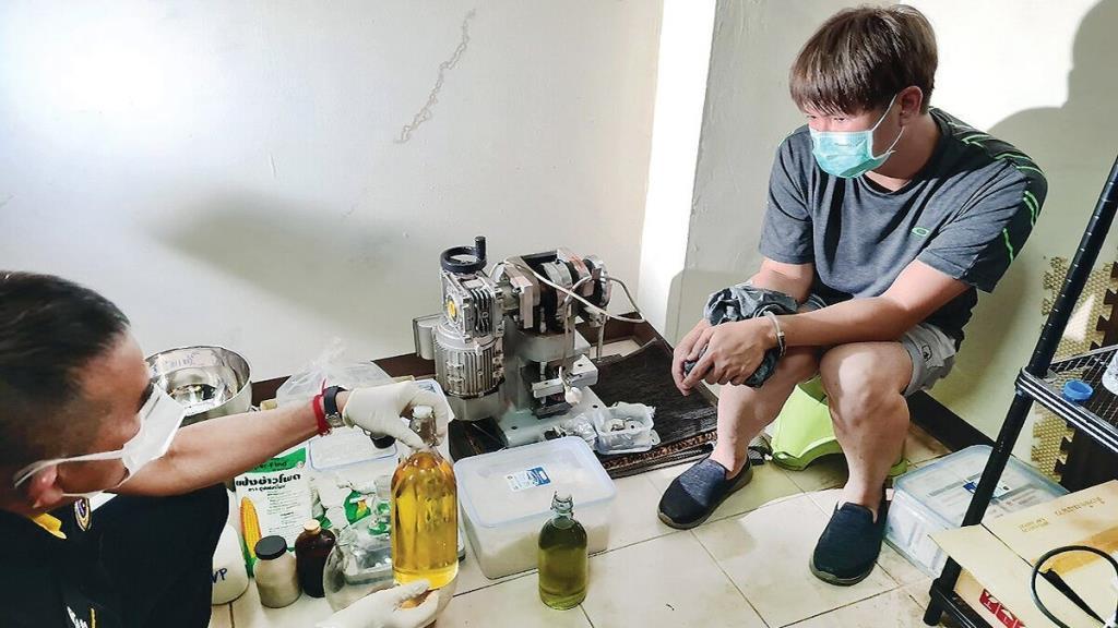 ยาอี ขี้ยาวิศวะเคมี ผลิตครั้งแรกในไทย