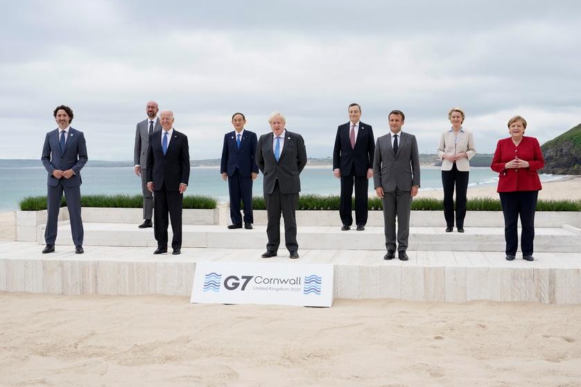 In Pics: 'ไบเดน' กระทบไหล่ผู้นำ G7 ที่อังกฤษ ครั้งแรกหลังก้าวขึ้นเป็นปธน.สหรัฐฯ