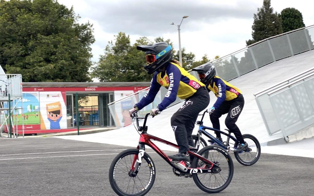 """จักรยาน เฮลั่น!! """"ชุติกาญจน์"""" คว้าตั๋วบีเอ็มเอ็กซ์หญิงลุยโอลิมปิก 2020"""